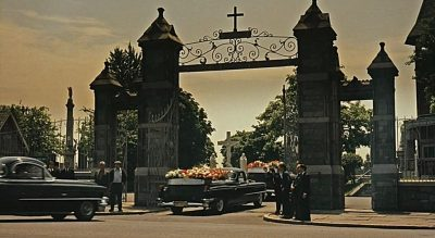 Entrence to Calvary cemetery