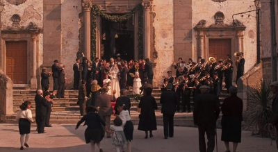 A Wedding at the church in Corleone