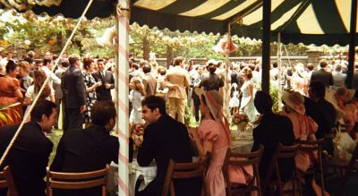 Guests at the Corleone wedding