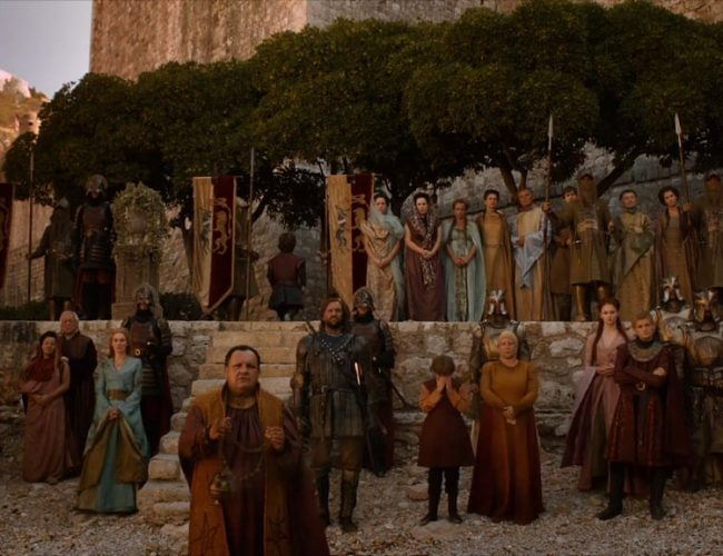 Myrcella Leaving And Returning To Kings Landing Filming
