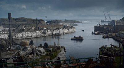 Theon Grayjoy arrives at Pyke's Island