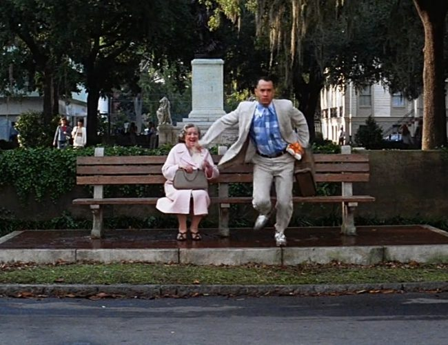The Bus Stop Bench Filming Locations