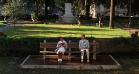 Forrest Gump - The Bus Stop Bench - 4 - movieworldmap.com
