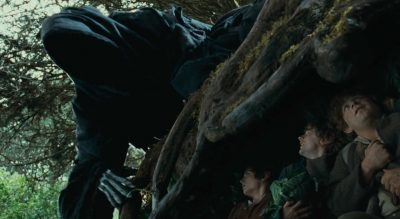 The Lord of the Rings - Black Rider or Nazgul searching for the Hobbits